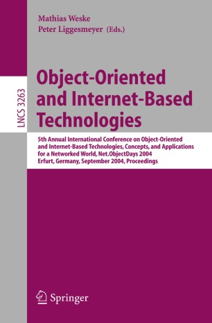 Object-Oriented and Internet-Based Technologies
