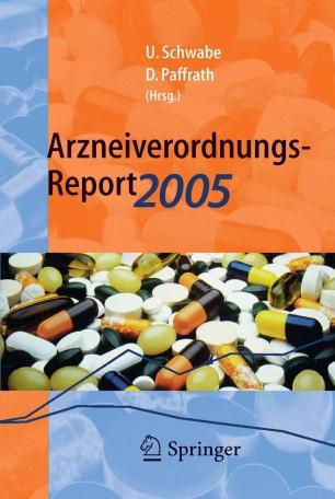 Arzneiverordnungs Report 2005 Springerlink border=