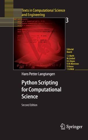 Python Scripting for Computational Science | SpringerLink