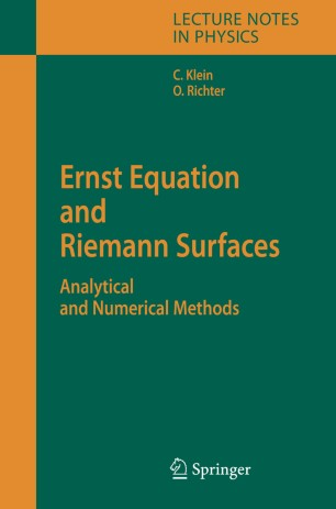 Ernst Equation and Riemann Surfaces