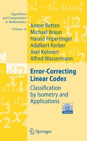 Error-Correcting Linear Codes