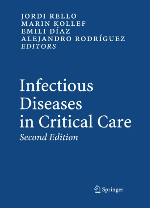Infectious Diseases in Critical Care | SpringerLink