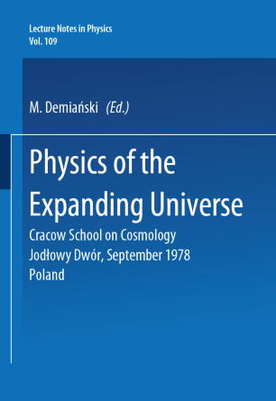 Physics of the Expanding Universe