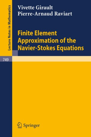 Finite Element Approximation of the Navier-Stokes Equations