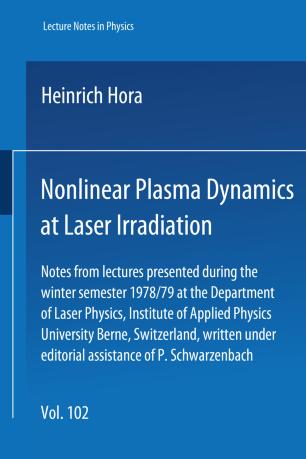Nonlinear Plasma Dynamics at Laser Irradiation