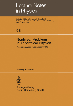 Nonlinear Problems in Theoretical Physics