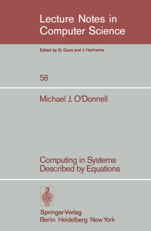 Computing in systems described by equations