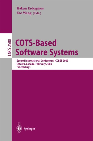 COTS-Based Software Systems