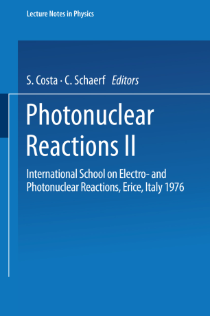 Photonuclear Reactions II