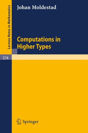 Computations in Higher Types