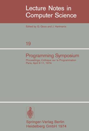 Programming Symposium