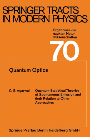 Springer Tracts in Modern Physics, Volume 58