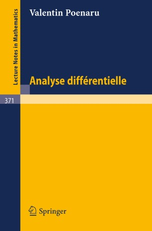 Analyse Différentielle