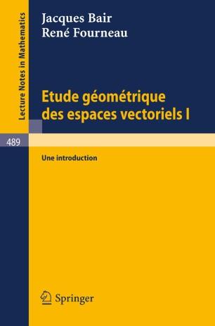 PDF) Chapitre 1 Espaces vectoriels 7