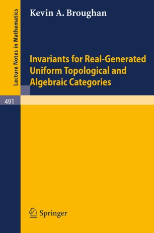 Invariants for real generated uniform topological and for Uniform space topology