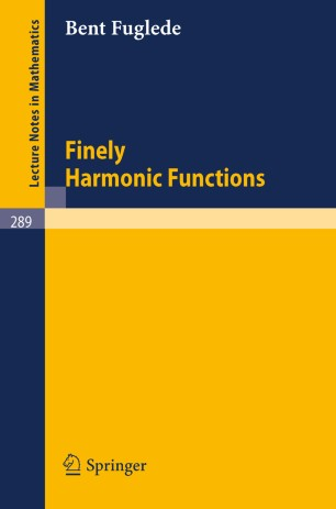 Finely Harmonic Functions