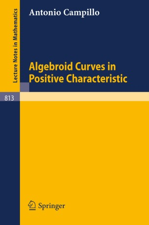 Algebroid Curves in Positive Characteristic