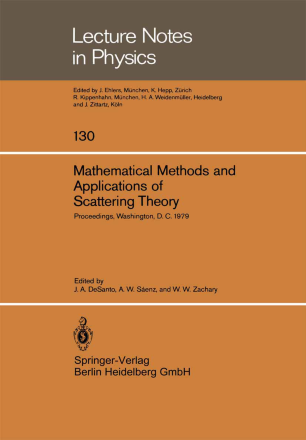 Mathematical Methods and Applications of Scattering Theory