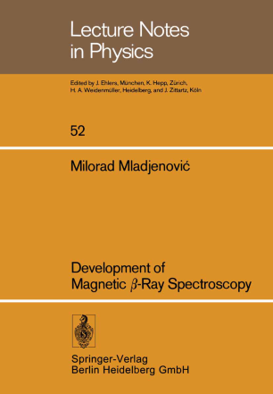Development of Magnetic β-Ray Spectroscopy