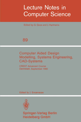 Computer Aided Design Modelling, Systems Engineering, CAD-Systems
