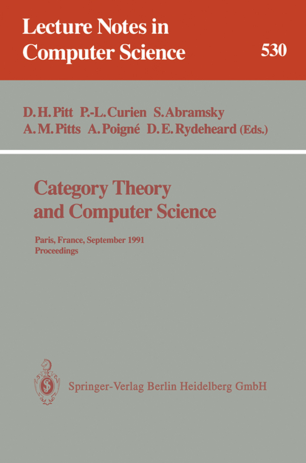 Category Theory [Lecture notes]