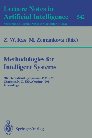 Methodologies for Intelligent Systems | SpringerLink