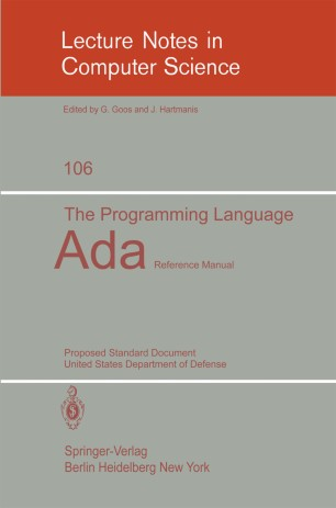 The Programming Language Ada