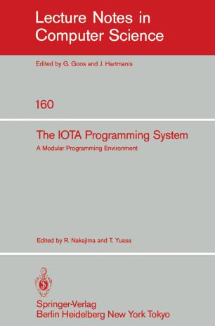 The IOTA Programming System