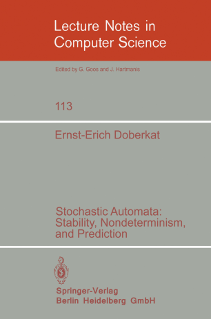 Stochastic Automata: Stability, Nondeterminism, and Prediction