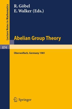 Abelian Group Theory