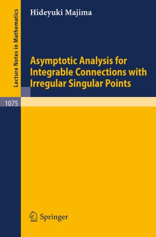 Asymptotic Analysis for Integrable Connections with Irregular Singular Points