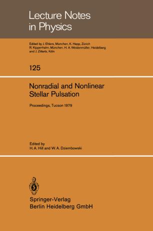 Nonradial and Nonlinear Stellar Pulsation
