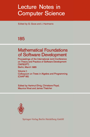 Mathematical Foundations of Software Development