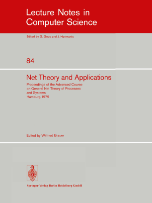 Net Theory and Applications