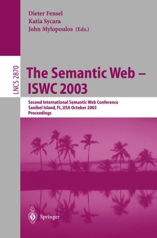 The Semantic Web - ISWC 2003