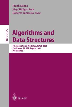 Algorithms and Data Structures   SpringerLink