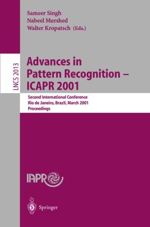 Advances in Pattern Recognition — ICAPR 2001