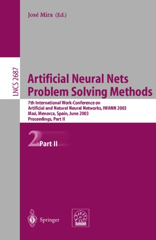 Artificial Neural Nets Problem Solving Methods