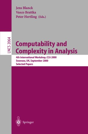 Computability and Complexity in Analysis