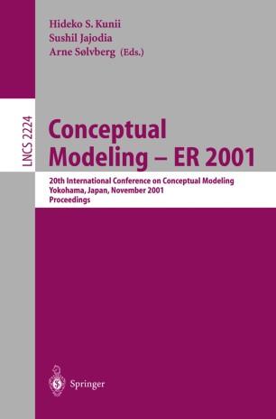 Conceptual Modeling — ER 2001