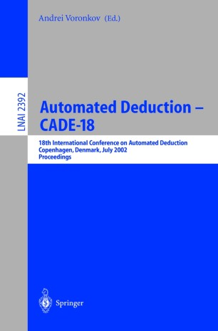 Automated Deduction—CADE-18