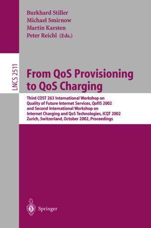 From QoS Provisioning to QoS Charging
