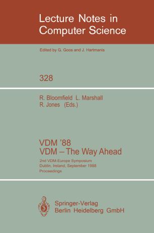 VDM '88 VDM — The Way Ahead