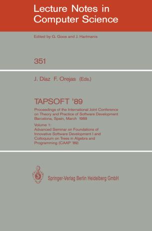 TAPSOFT '89