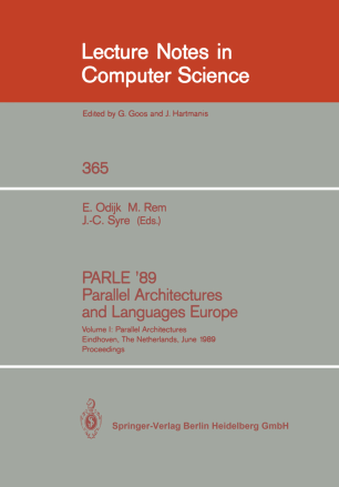 PARLE '89 Parallel Architectures and Languages Europe