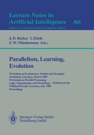 Parallelism, Learning, Evolution | SpringerLink