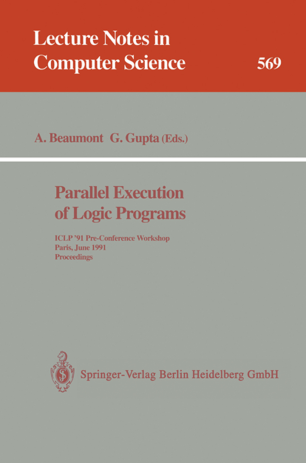 Parallel Execution of Logic Programs