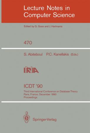 ICDT '90