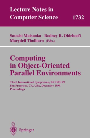 Computing in Object-Oriented Parallel Environments
