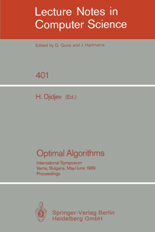 Optimal Algorithms
